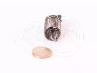 Belarus/MTZ feeder control  spring + pin (traditional feeder UTN) (1)