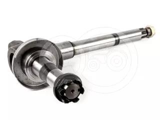 Belarus/MTZ bent shaft (hardened, right) premium (1)
