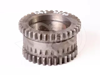 Belarus/MTZ pinion 041  Z = 35/30 (gear, the lower groove toothing) a new type, original (1)