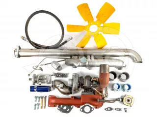 Belarus/MTZ turbo conversion kit with suction motor (90 hp) more than 50 parties, complete (UTN portioner normal version) (1)