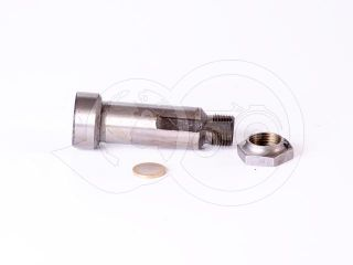 Belarus/MTZ shaft 094 + nut (draft 82 out- drive) (4)