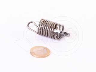 Belarus/MTZ feeder control  spring + pin (traditional feeder UTN) (0)