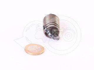 Belarus/MTZ feeder control  spring + pin (traditional feeder UTN) (2)