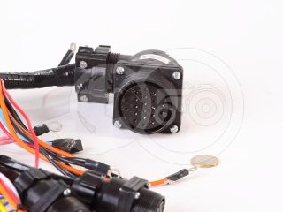 Belarus/MTZ cable bunch insrument panel (1 large + 2 small connectors) (1)