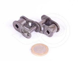 12B-2  roller chain bent connecting duplex Quattro Rull eye (one eye) 3/4