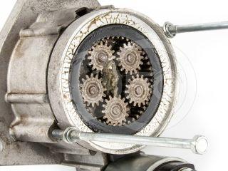 Belarus/MTZ starter (with transmission) 24V, Czech (6)