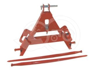 Bale carrier fork, with 3 point suspension (0)