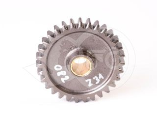 Belarus/MTZ pinion 082 Z = 31 + roller cart (reverse gear freewheel) (3)