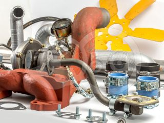 Belarus/MTZ turbo conversion kit with suction motor (90 hp) more than 50 parties, complete (UTN portioner normal version) (8)