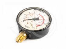 Spray pressure of 10 bar gauge, metal case (glycerol), Italian