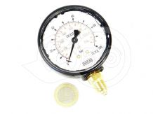 Spray 100bar pressure gauge, plastic housing